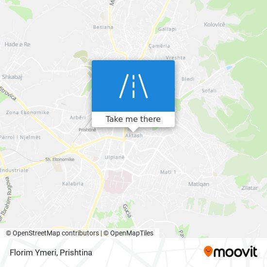 Florim Ymeri map