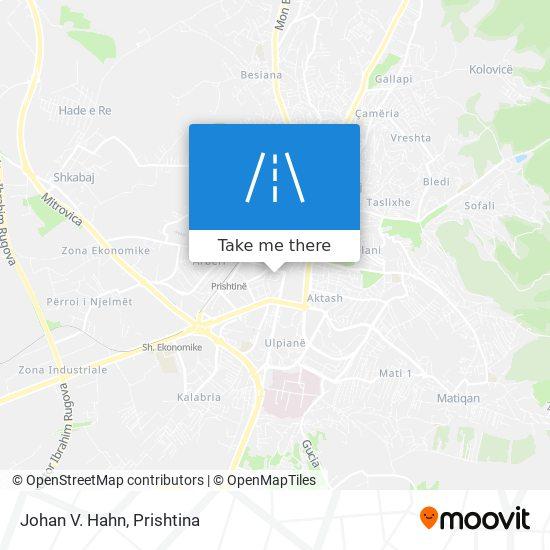 Johan V. Hahn map