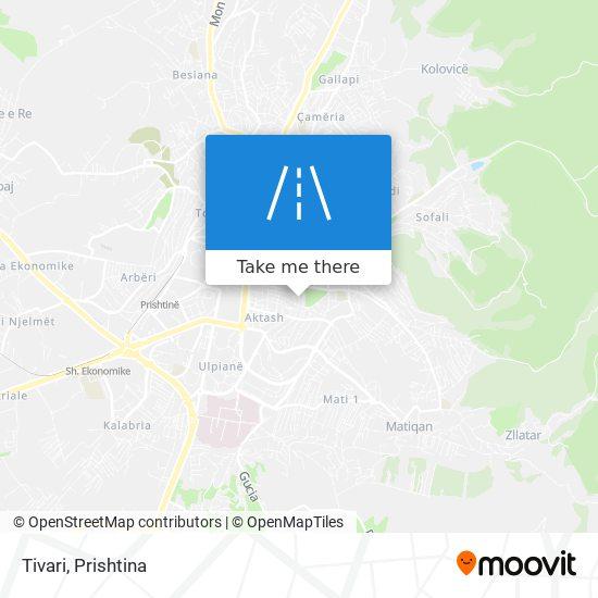 Tivari map