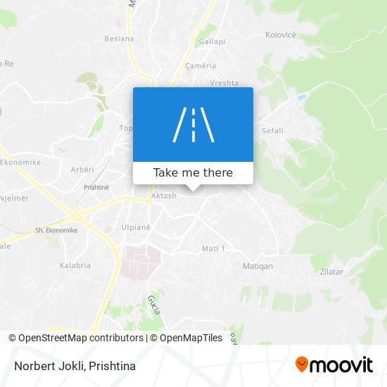 Norbert Jokli map
