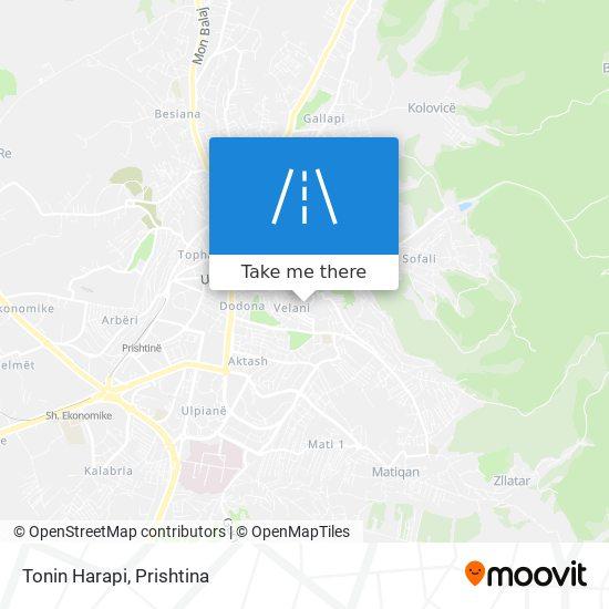 Tonin Harapi map