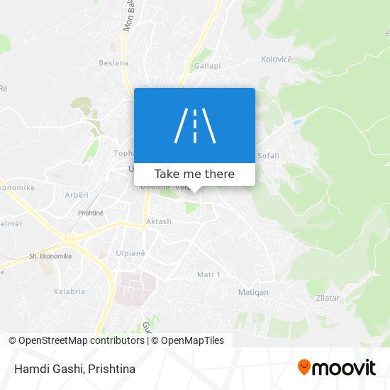 Hamdi Gashi map
