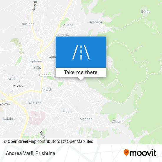 Andrea Varfi map