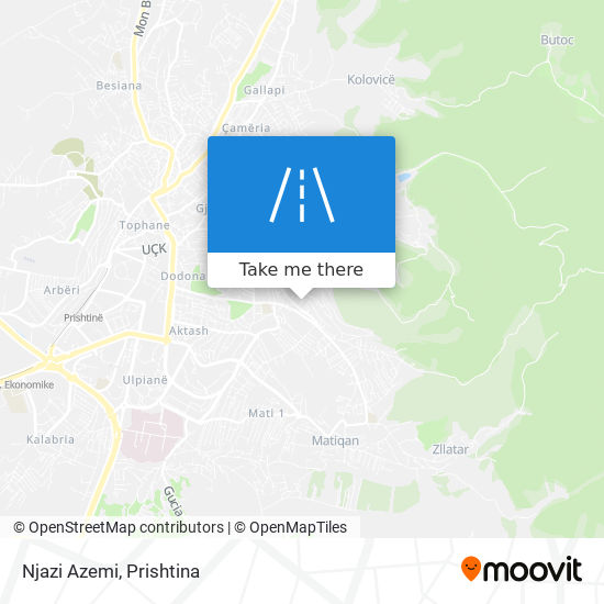 Njazi Azemi map