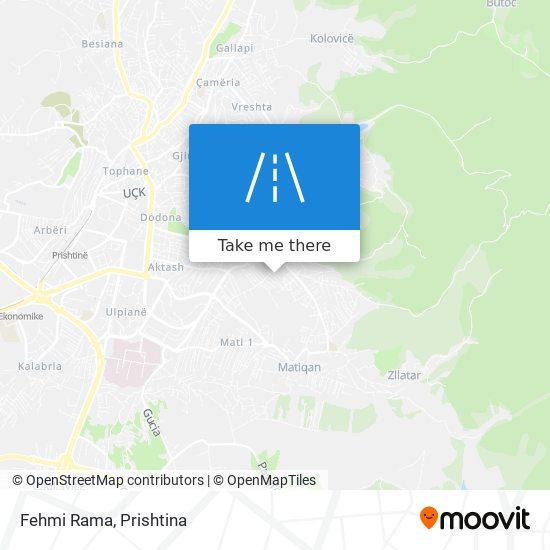Fehmi Rama map