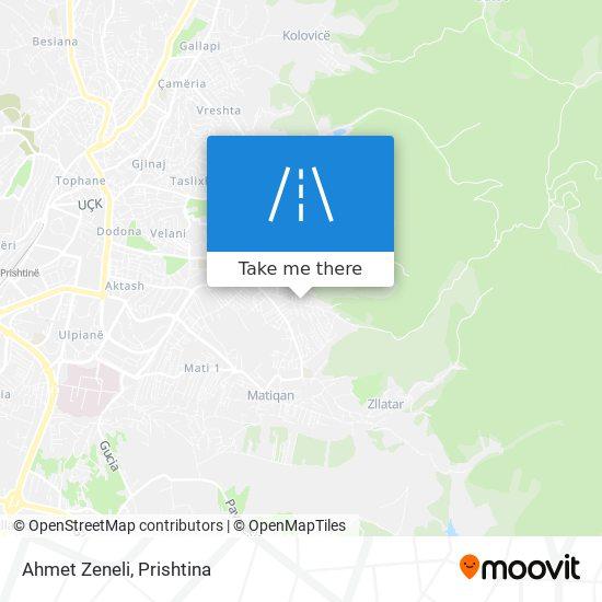 Ahmet Zeneli map