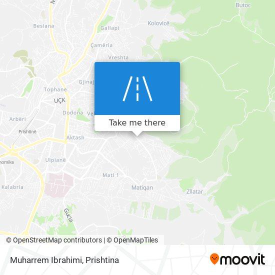 Muharrem Ibrahimi map