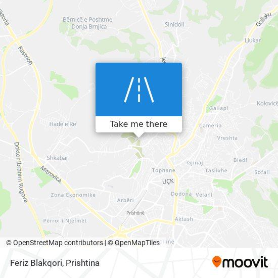 Feriz Blakqori map