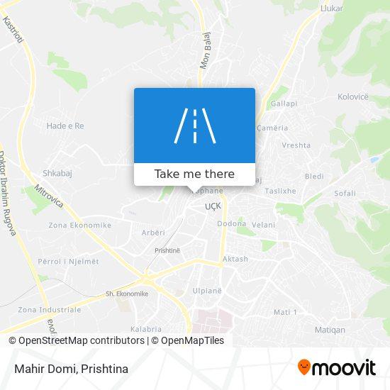 Mahir Domi map
