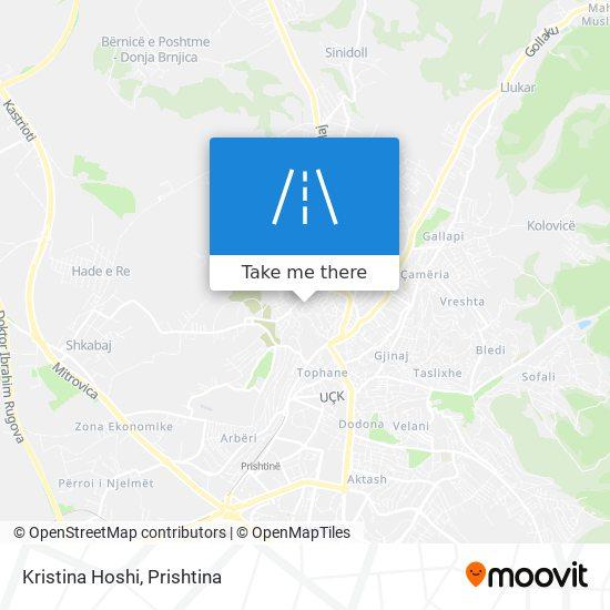 Kristina Hoshi map