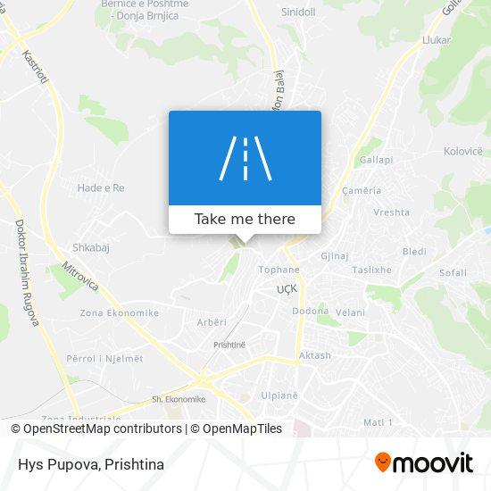 Hys Pupova map