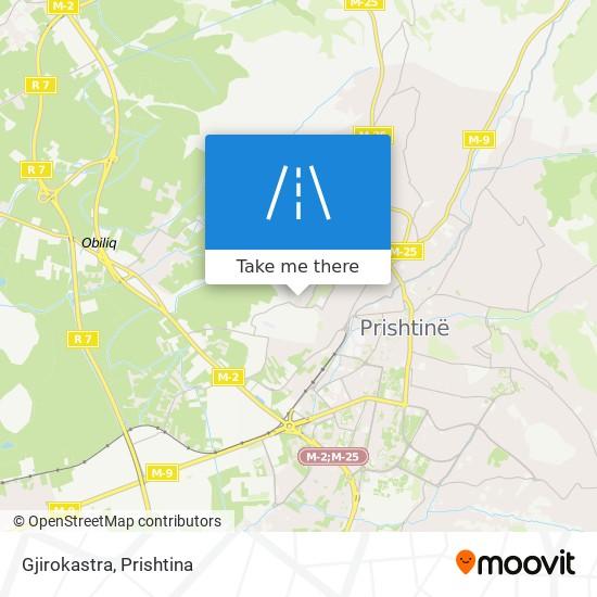 Gjirokastra map