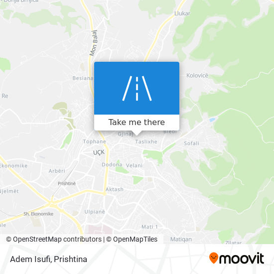 Adem Isufi map