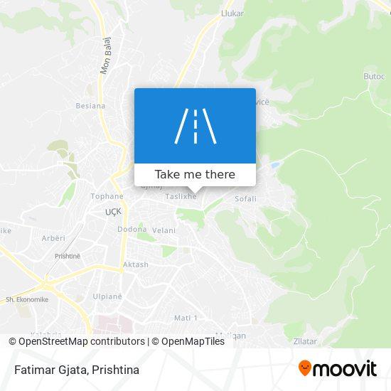 Fatimar Gjata map