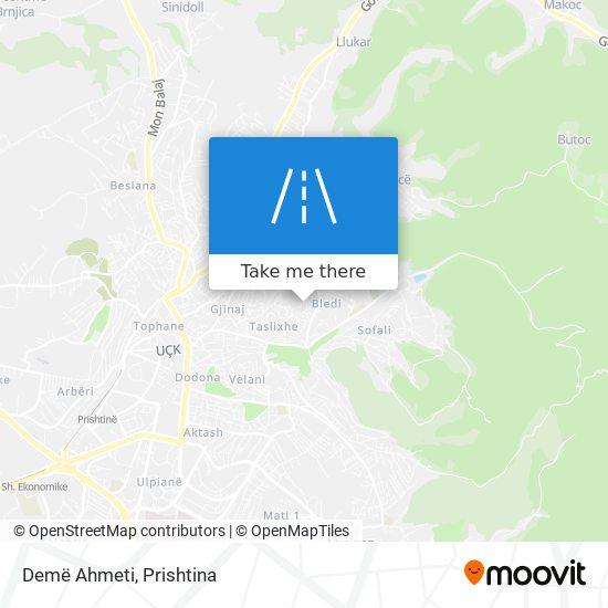 Demë Ahmeti map