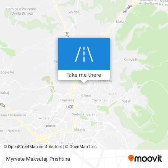 Myrvete Maksutaj map