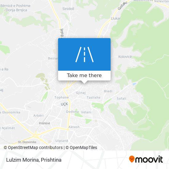 Lulzim Morina map