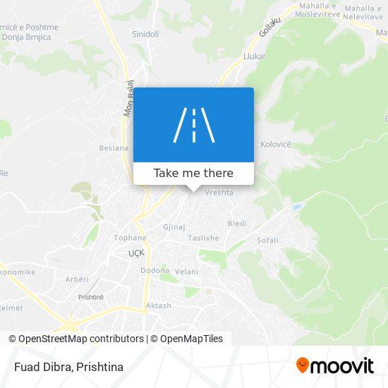Fuad Dibra map