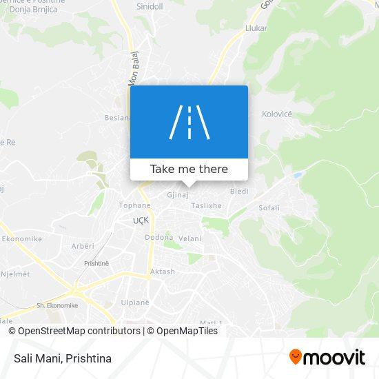 Sali Mani map