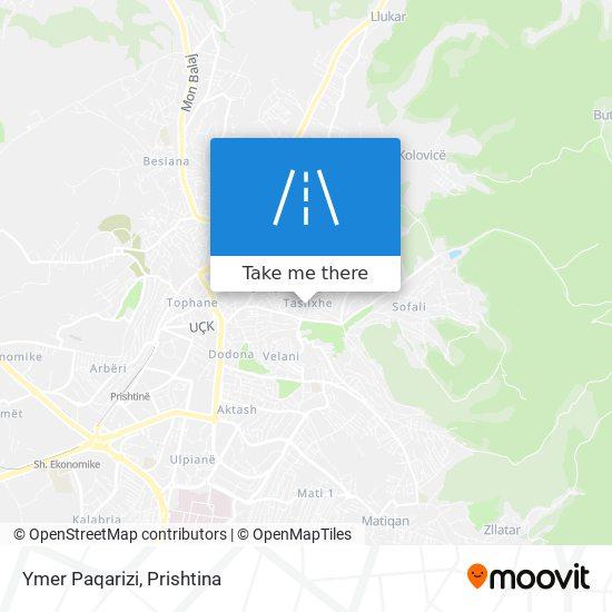 Ymer Paqarizi map