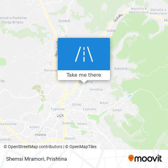 Shemsi Mramori map
