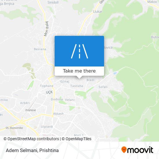 Adem Selmani map
