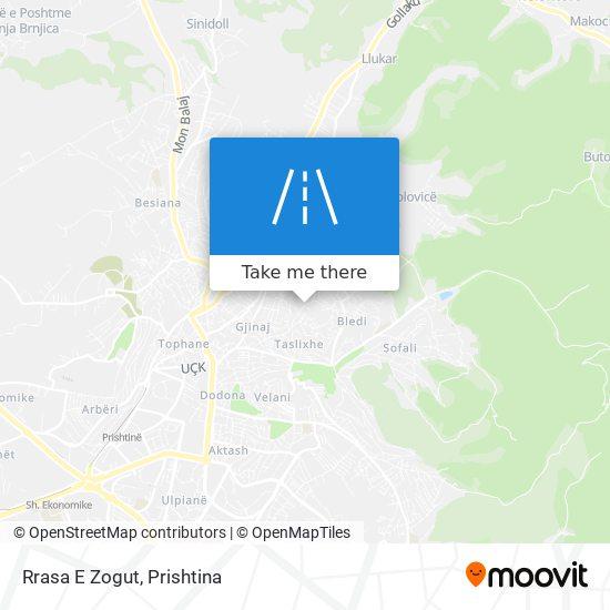 Rrasa E Zogut map