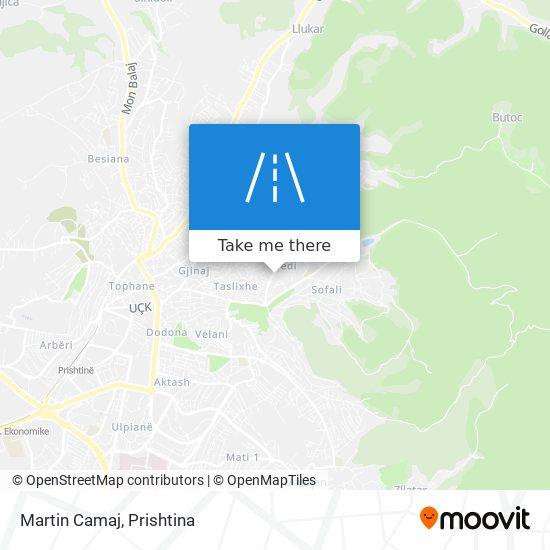 Martin Camaj map