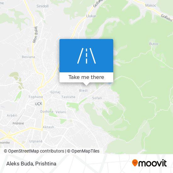 Aleks Buda map