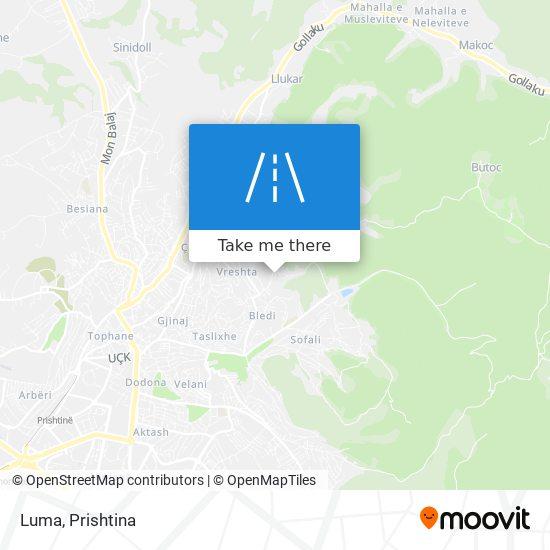 Luma map