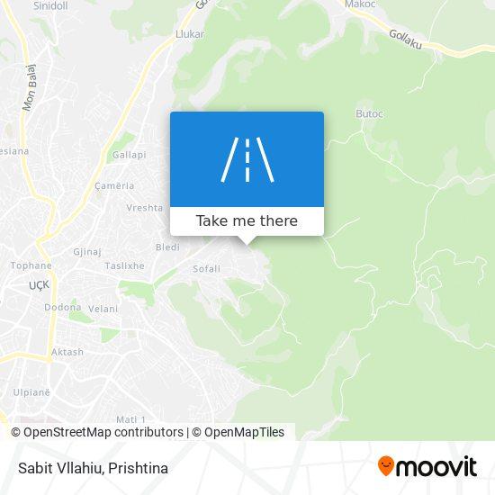 Sabit Vllahiu map