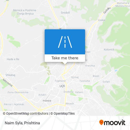 Naim Syla map