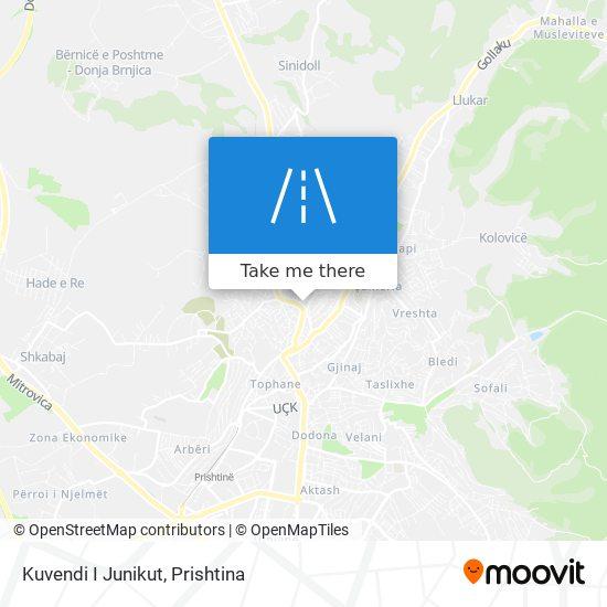 Kuvendi I Junikut map