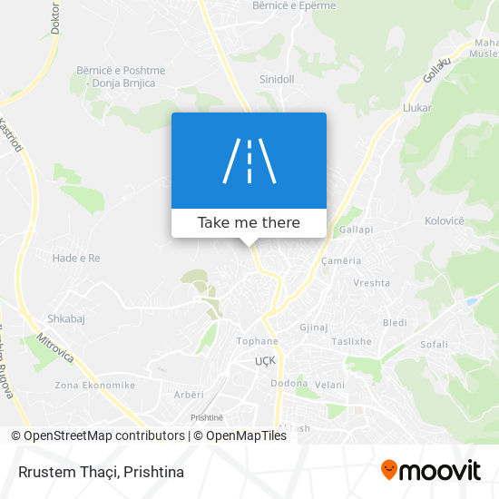 Rrustem Thaçi map