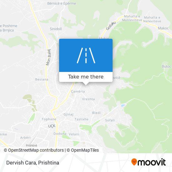 Dervish Cara map