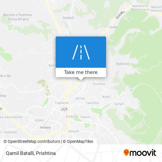 Qamil Batalli map