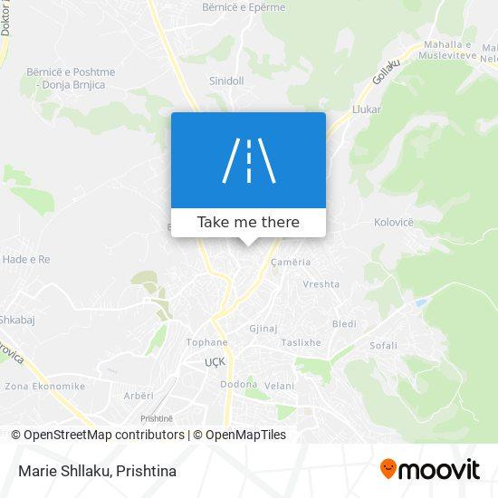 Marie Shllaku map