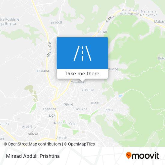 Mirsad Abduli map