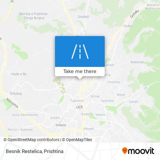 Besnik Restelica map