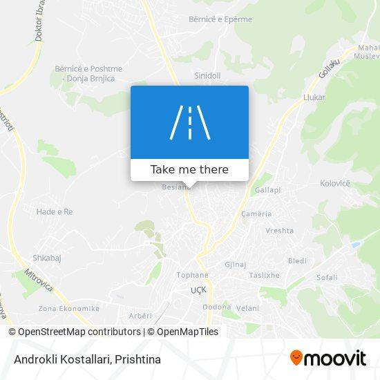 Androkli Kostallari map