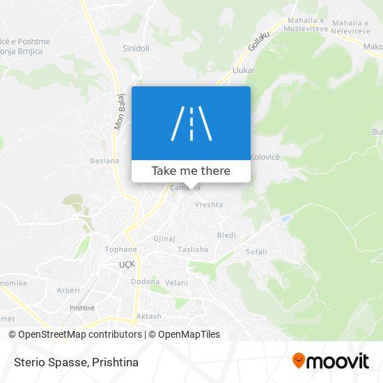 Sterio Spasse map