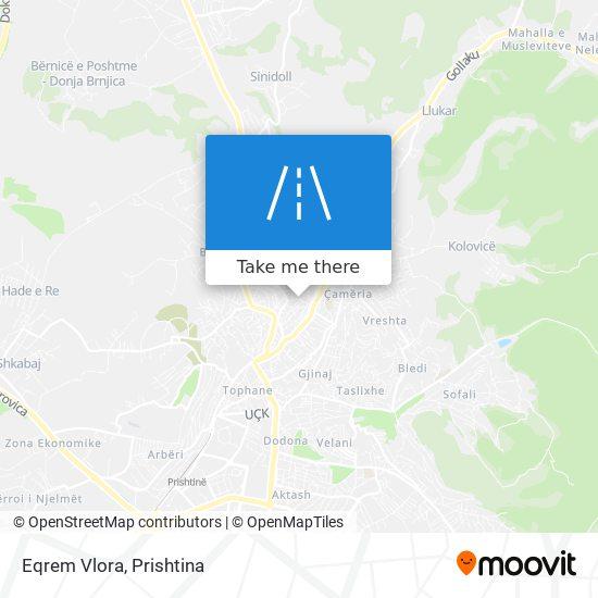Eqrem Vlora map