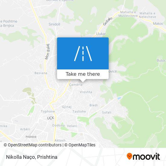 Nikolla Naço map