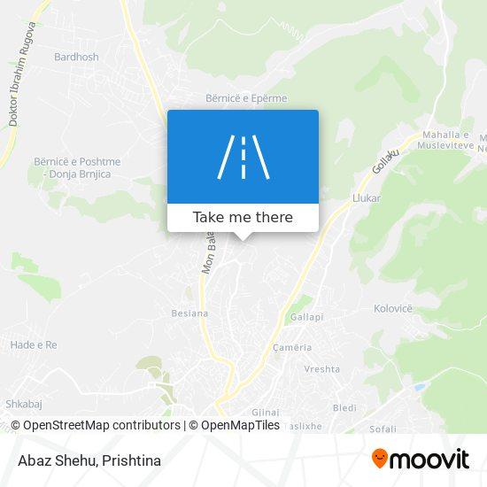 Abaz Shehu map