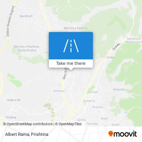 Albert Rama map