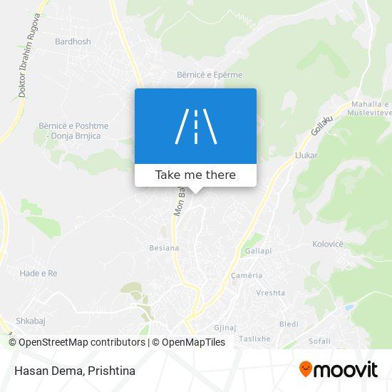 Hasan Dema map