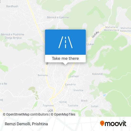 Remzi Demolli map