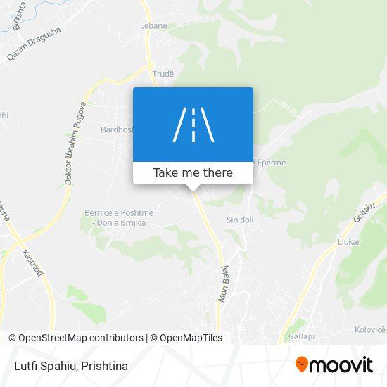 Lutfi Spahiu map