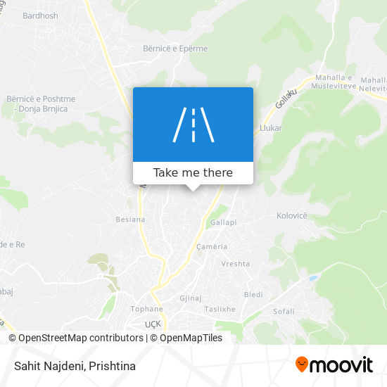 Sahit Najdeni map