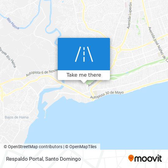 Respaldo Portal map